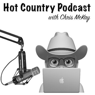 Logo for Hot Country Podcast